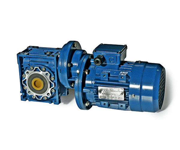 PR+RD WORM GEARED MOTORS WITH PRE-STAGE HELICAL UNIT